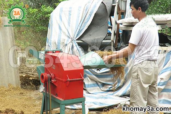 Máy xay vỏ dừa, băm rơm, bã mía 3A3Kw